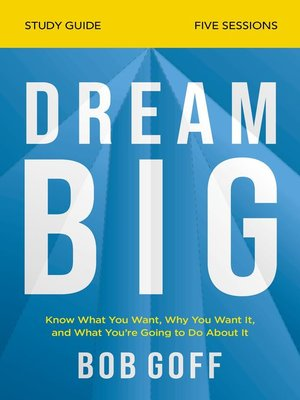 cover image of Dream Big Study Guide
