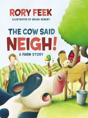 cover image of The Cow Said Neigh!