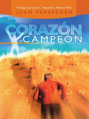 cover image of Corazón de campeón