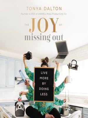 cover image of The Joy of Missing Out