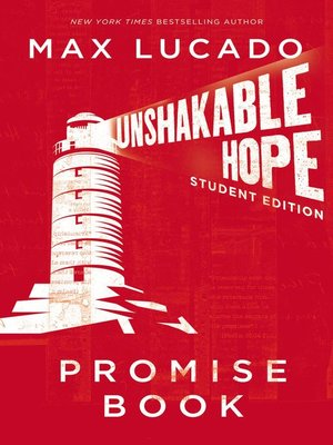 cover image of Unshakable Hope Promise Book