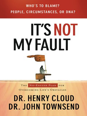 cover image of It's Not My Fault
