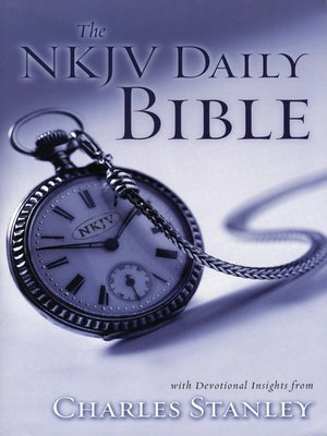 cover image of The NKJV Daily Bible