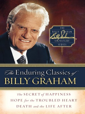 cover image of The Enduring Classics of Billy Graham