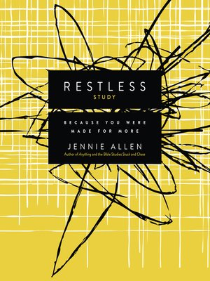 cover image of Restless Study Guide