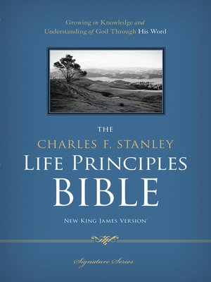 cover image of NKJV, the Charles F. Stanley Life Principles Bible