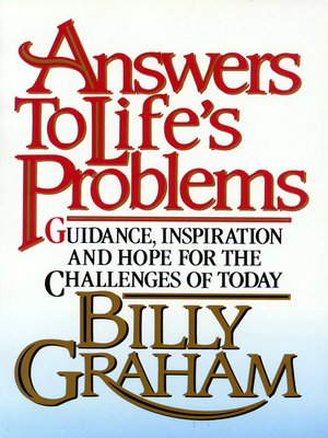 cover image of Answers to Life's Problems