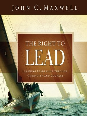 cover image of The Right to Lead