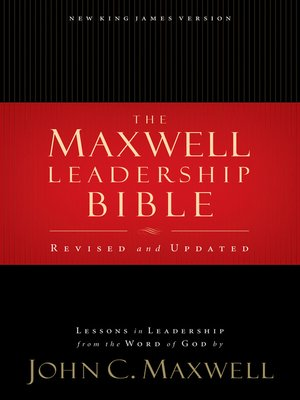 cover image of NKJV, Maxwell Leadership Bible, eBook