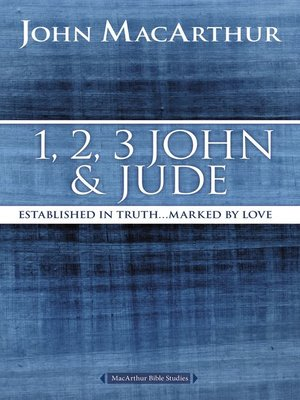 cover image of 1, 2, 3 John and Jude