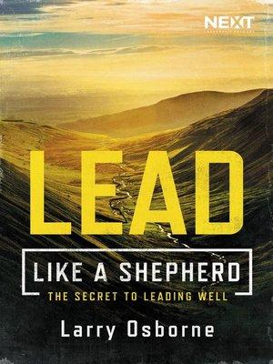 cover image of Lead Like a Shepherd