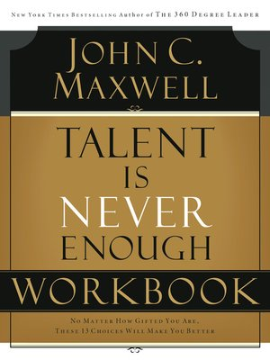 cover image of Talent is Never Enough Workbook