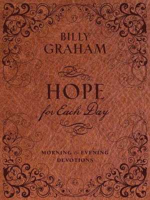 cover image of Hope for Each Day Morning and Evening Devotions