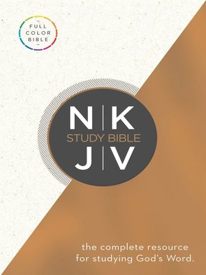 cover image of NKJV Study Bible, eBook