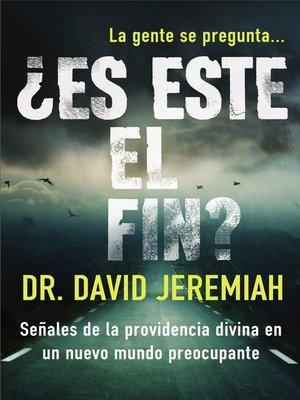 cover image of ¿Es este el fin?