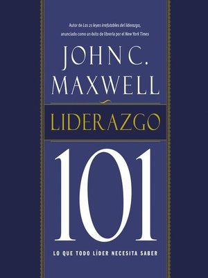 cover image of Liderazgo 101