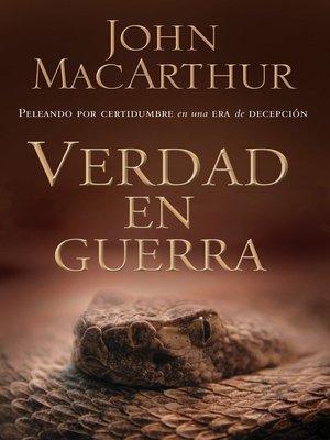 cover image of Verdad en guerra