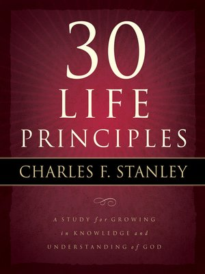 cover image of 30 Life Principles