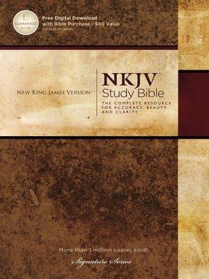 cover image of NKJV, the NKJV Study Bible, eBook