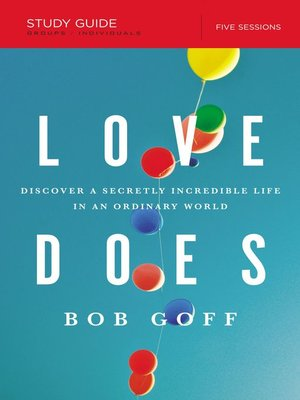 cover image of Love Does Study Guide