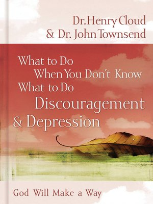 cover image of Discouragement & Depression