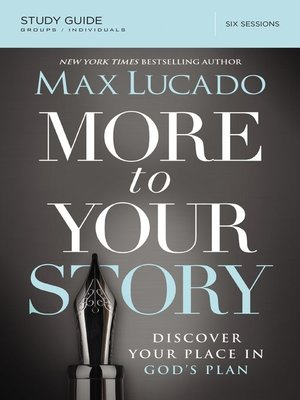cover image of More to Your Story Study Guide