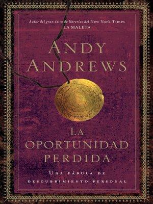 cover image of La oportunidad perdida