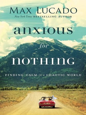 cover image of Anxious for Nothing