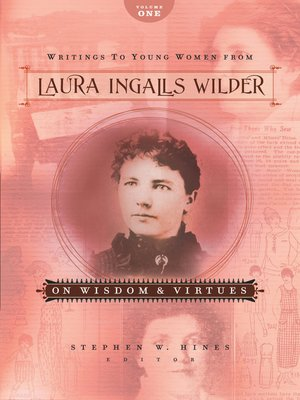 cover image of Writings to Young Women from Laura Ingalls Wilder, Volume One