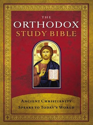 cover image of The Orthodox Study Bible, eBook