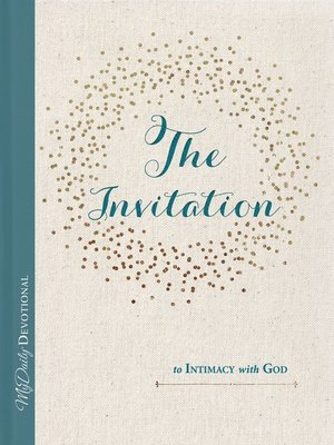cover image of The Invitation to Intimacy with God