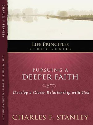 cover image of Pursuing a Deeper Faith