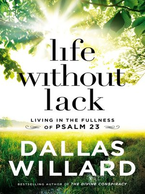 cover image of Life Without Lack