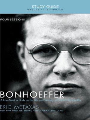 cover image of Bonhoeffer Study Guide