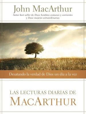 cover image of Las lecturas diarias de MacArthur