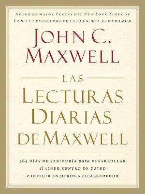 cover image of Las lecturas diarias de Maxwell