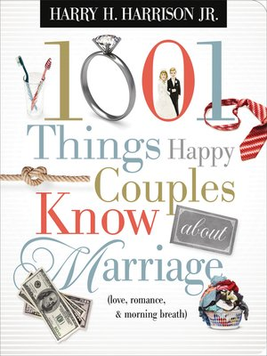 cover image of 1001 Things Happy Couples Know About Marriage