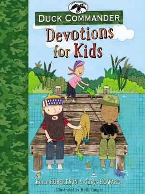 cover image of Duck Commander Devotions for Kids