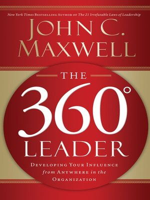 cover image of The 360 Degree Leader