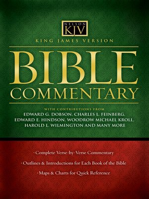 cover image of King James Version Bible Commentary