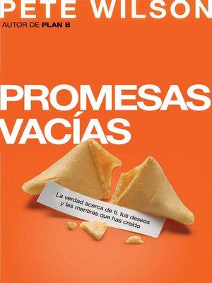 cover image of Promesas vacias