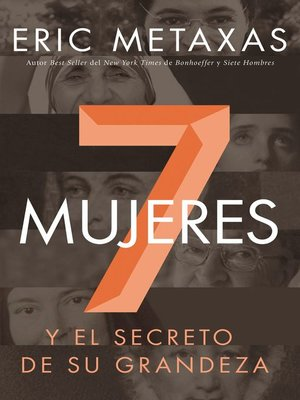cover image of Siete mujeres
