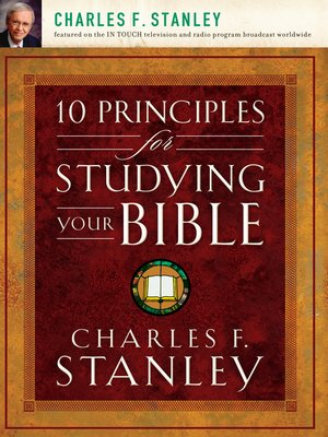 cover image of 10 Principles for Studying Your Bible