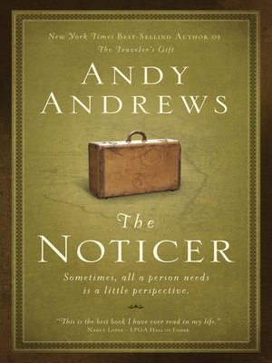 cover image of The Noticer