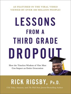 cover image of Lessons From a Third Grade Dropout