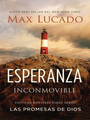 cover image of Esperanza inconmovible
