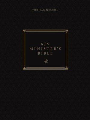 cover image of KJV, Minister's Bible, Ebook