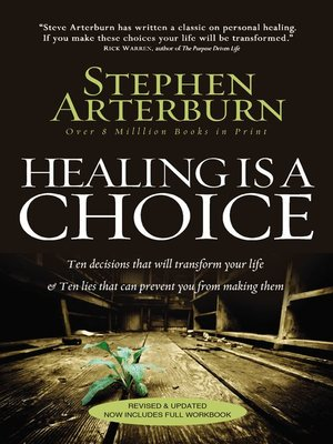 cover image of HEALING IS A CHOICE REVISED