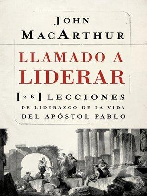 cover image of Llamado a liderar