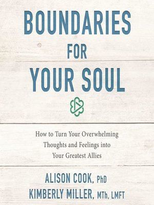 cover image of Boundaries for Your Soul